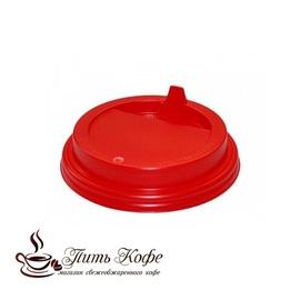 Крышки для бумажных стаканов, Д-90, с клапаном для горячих напитков, красная/белая/черная